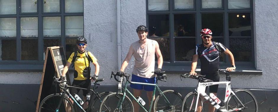 Team Spinnaker London-2-Paris Cycle Ride!