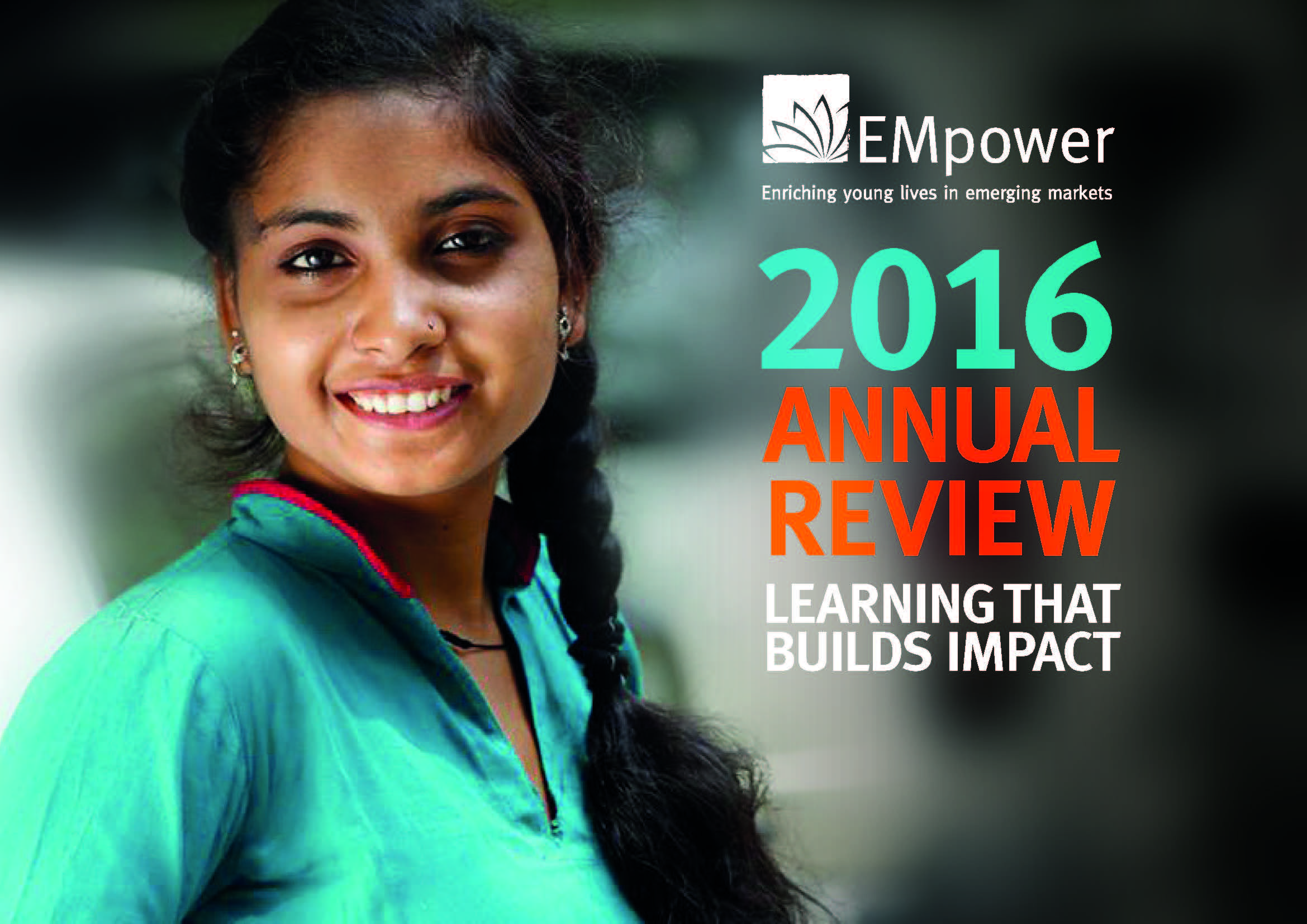 Learning that builds Impact: 2016 Annual Report
