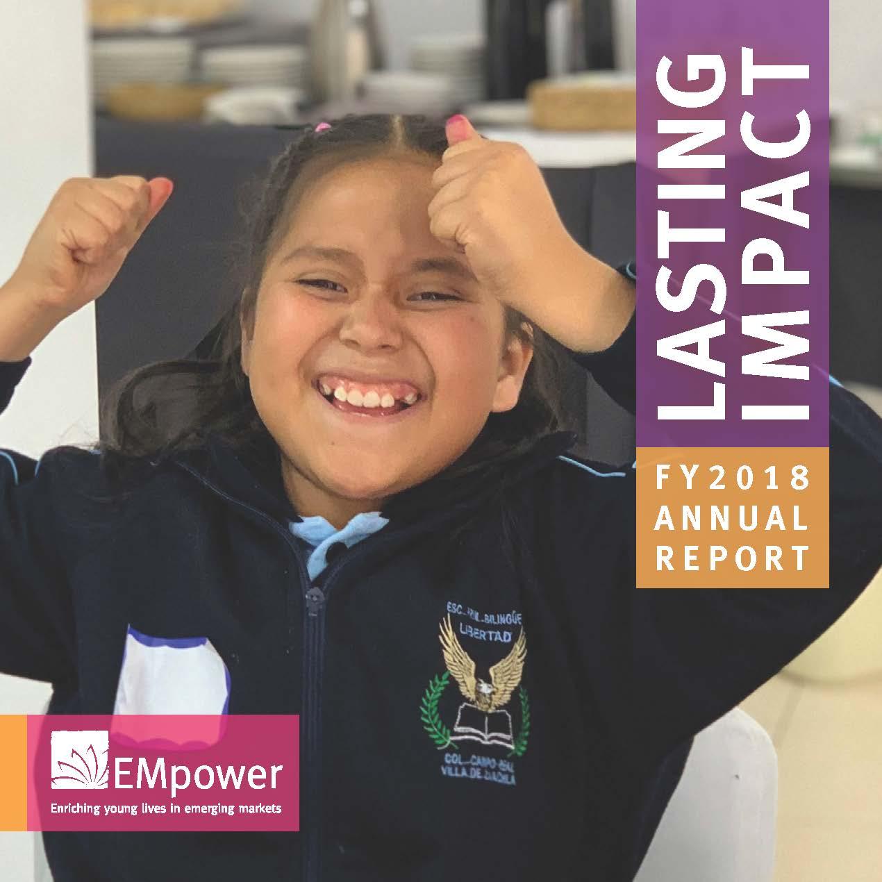 Lasting Impact: 2018 Annual Report